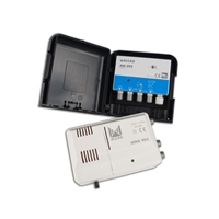 Kit alimº+ampli AM-292 2 entrées UHF, DAB-FM 20dB Cx 21-48