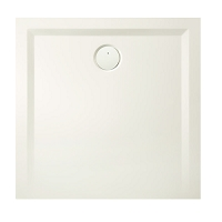 REC.CARRE  SPACE MINERAL 100 X 100 BLANC
