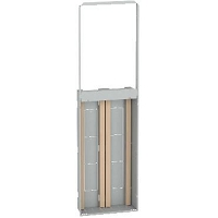 Resi9 - bac d'encastrement 2x13 modules - hauteur utile 1110 mm