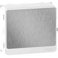 Resi9 - habillage + porte touch aluminuim 13M - panneau de ctrl - blo