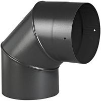 TERMINAL VERTICAL OCRE Lg.1150 mm GAZ Ø 80/125