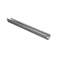 GOULOTTE INOX PROTECTION Larg 90 mm - Long 1 ML -  tube Ø54 maxi