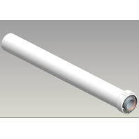 Cdt 60/100 alu/pvc L1000  - NPC
