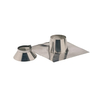 SOLIN INOX ARDOISE 30° A 45°+COLLET 180