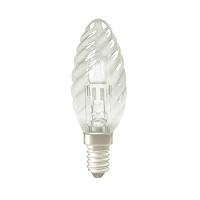 LAMPE HALOGENE CLASSIC ECO FLAMME TORSADEE 42W 230V E14