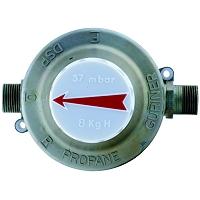 DETENDEUR SECURITE PROPANE 12,0KG/H 1,75 bar=>37mbar G3/4 G3/4