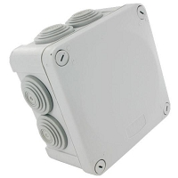 BOITIER OPTIBOX IP55 1/4 T 100X100X55mm