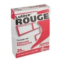 PLATRE LUTECE ROUGE SAC 25 KGS