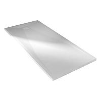 RECEVEUR KINESURF + 140 X 90 BLANC  MAT BONDE PETIT COTE