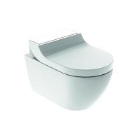 WC complet Geberit AquaClean Tuma Comfort, WC suspendu: Blanc alpin