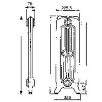 SIPHON MACHINE A LAVER  PVC SORTIE HORIZONTALE