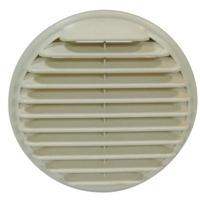 ENTREE/SORTIE D'AIR MURALE PVC BEIGE  D 160