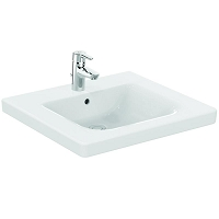 LAVABO CONNECT FREEDOM PLAN 60 X 55.5 CM BLC