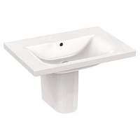 LAVABO CONNECT PLAN 70X49 SS TR ROB BLC