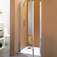PORTE PIVOTANTE BORA OUVERTURE TOTALE 87/91 CHROME VT