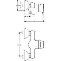COUDE COMPOSITE A SERTIR 90° 25X25