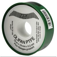 OLIFAN PTFE GROS DIAMETRE 19 mm x 12 m x 0,2 mm cache bleu