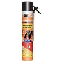GEBSOMOUSSE COUPE FEU aérosol 1000/700 ml
