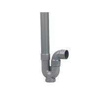 SIPHON MAL SIMPLE H PVC - K