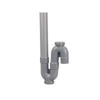 SIPHON MAL SIMPLE VERTICAL PVC - K