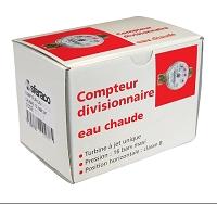 COMPTEUR DIV EAU<30°- CAL25 - CLASSE B Hz- Qn=3,5 m3/h - Qmax=7 m3/h