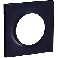 ODACE STYL PLAQUE ANTHRACITE 1 POSTE