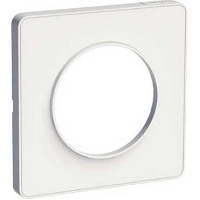 ODACE TOUCH PLAQUE 1POSTE BLANCHE