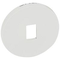 CELIANE  PLAQUE ANODISE 3POSTES TITANE  (068903)