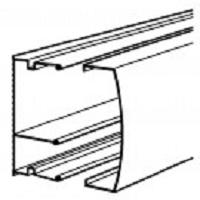 MOULURE KEVA BLANCHE 22X12 /2 COMPARTIMENTS 2 ML (carton=45)