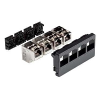 CONNECTEUR S ONE RJ 45 CAT6 BLINDE