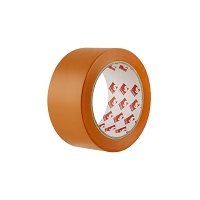 RLX ADHESIF PVC BARNIER MULTI USAGES  33M x 75mm  ORANGE   (6095)