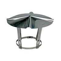 COLLIER DEPART INOX 304  DIAM 125/131